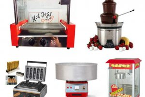 מכונות מזון לדוכני מזון